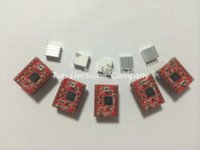 Wholesale 5pcs Reprap Stepper Driver A4988 Stepper Motor Driver Module with Heatsink Dropshipping Other Electronic Components
