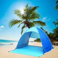 Wholesale Waterproof Automatic Instant Tent Outdoor Sport Anti UV Camping Beach Tent