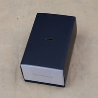 Wholesale Black or Red Elegant pure color Paper Present Gift Box Case For Jewelry Larsson Jennings Watch Box