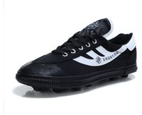 Wholesale playr shoes Men s play balll Training extra large US Male yards canvas paly ball glue spiked shoes