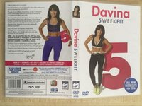 Wholesale 2016 HotDavina sweek fit workout DVD dics US Version Branded New fitness DVD TV series movies DHL