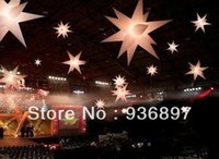 Wholesale inflatable stars for decoration led light inflatable star