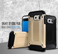 ballistic aluminum - Ballistic Hybrid Durable TPU PC Aluminum Hard Case Slim Tough Wave Armor ShockProof Line For Samsung Galaxy S7 Edge Plus G930