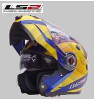 abs cost - LS2 FF370 Dual Lens motorcycle helmet visor exposing the high cost of new full face helmet Pearl Blue Lei Ling