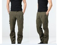 airborne paratrooper - Outdoor summer pants men and women st Airborne Division paratroopers couple climbing pants military fans S XXXL