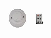 720P DVR Night Vision Smoke Alarm Surveillance Télécommande caméra cachée enregistrement vidéo, détection de mouvement de Long temps de travail