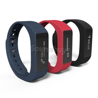 Bon Marché Système de commande de cellule-I5 Bracelet Smart Plus étanche Gesture Wristband Bluetooth4.0 Fitness Tracker Smart Control Montre pour iOS Apple Android système de téléphone cellulaire