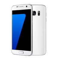 Wholesale s7 Phones MTK6580 Quad Core Smartphone Android inch bit M G show G G rom GPS WIFI Smart cell phone fingerprint Fake G LTE