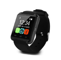 Wholesale U8 Bluetooth Digital watch U80 U Smart Watch Sport Bracelet Smartwatch Wristband Handsfree for Android iPhone Samsung Xiaomi Mi
