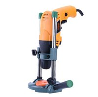 bench drill stand - Mobile Drill Stand Adjustavle Angle Simple drill stand drill Not Hand held change the drill into bench drill