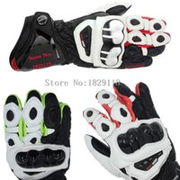 alpine pro - 2015 GP PRO Motorcycle Alpine Racing Gloves TOP Leather Motobike Road Luvas Top Isle Of Man TT Road Moto Stars Guantes