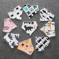 Wholesale 2016 INS hot cartoon baby bibs cotton bibs cheap child fashion children bib years style A27