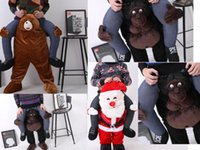bear ted costume - NEW Carry Me Ted Bear Santa Orangutan Mascot Sumo Ride On Fancy Dress Funny Costume Costume Animal Funny Fancy Dress Pants
