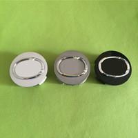 accessories lexus - 63mm Gray Silver Black Rear Wheel Center Hub Caps ABS Wheel Covers for Lexus Automobile Accessories