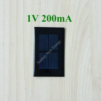 Wholesale 200pcs Epoxy Resin Mini Solar Panel V mA mm