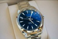 aqua band - Hot selling luxury brand top quality M Aqua Terra co axial Watches men movement L stainless steel band men watch