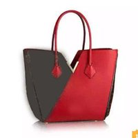 best canvas tote - red KIMONO V M40459 best quality Aurore women s handbag tote Luxury France brand bag genuine leather purse M56174 M41728 pm M41855 M41856