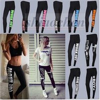 Wholesale Women Work Out Tights Capri YOGA Leggings Running Sport Ninth Pants High Waist Cropped Leggings Fitness Gym Pencil Pants Trousers A795