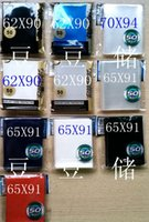 Wholesale 65 mm Large Magic Card Sleeves Deck Protectors transparent pack High quality gift