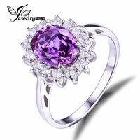 alexandrite wedding band - Jewelrypalace Princess Diana William Kate Middleton s ct Created Alexandrite Sapphire Ring Sterling Silver Brand Jewelry