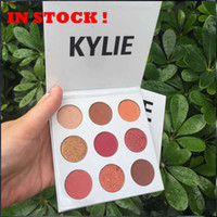 Wholesale NEW Kylie Jenners Burgundy Eyeshadow palette Kylie Jenner Cosmetics The Burgundy Eyeshadow Palette Kyshadow pc