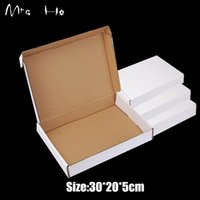 Wholesale White Paper Box Package for Gift Handmade Soap Business Delivery Packaging Paper Boxes cm Mailing Box PP783