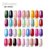 Wholesale 2016 Hottest item Gel Nail Polish Soak Off Nail Gel For Salon UV Gel Colors ml supply