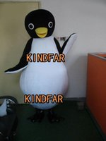 Wholesale Cute Penguin Cartoon Mascot Costume Halloween Party Outfits Fancy Dress Adult Size