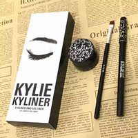 Wholesale Kylie Jenner Birthday Cosmetics Collection Kyliner Kit Kylie Kyliner Eyeliner and GEL Liner In Black Brown Dark Bronze
