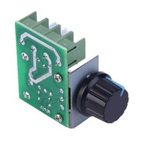 Wholesale 2000W AC V SCR Electronic Voltage Regulator Module Speed Control Controller Ajust Worldwide