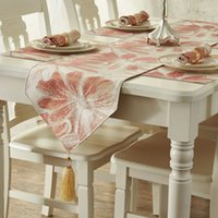Wholesale Promotion and stylish luxury gift of simple European Court s dining table cloth table mats bed towel