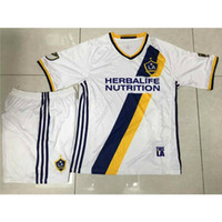 angeles kits - 2016 LA Galaxy Soccer Jersey Los Angeles Galaxy Kit Football Jersey Short White Soccer Unifoms China
