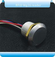 Wholesale KHZ RFID frequency Dito reader wiegand26 id mini RFID access control Rreader crystal keyfobs