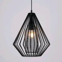 Wholesale Super bright Vintage LED Pendant Lights Industrial Lighting Cafe Bar Bedroom Restaurant Living Room Birdcage Pendant Light Hanging Lamp