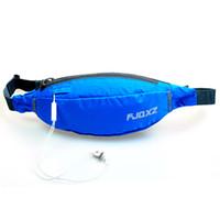 Wholesale 8 Colors Waterproof Sport Running Climbing Cycling Waist Packs Fashion Outdoor Riding Pockets Women Men Waist Bag