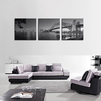 best digital painting - Canvas Print Best Wall Art Painting Panel The Sydney Harbour Bridge Picture Print On Canvas Home Decoration painting