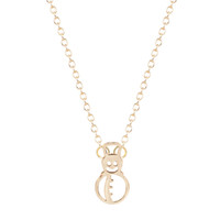 accessories teens - 10pcs New Design Christmas Gift Snowman Necklace Holiday Jewelry for Women Teen Girls Winter Accessories