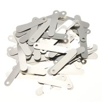aa battery tabs - 100pcs conductive Solder Tab For AA Sub C Rechargeable Battery Cell x0 cm