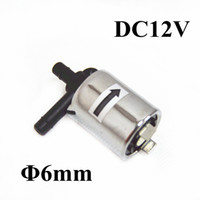 Wholesale Brand new V Solenoid valve mm water valve normally close air valve for DIY Micro DC12V Electric Solenoid Valve