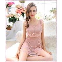 Wholesale Hot Sales Women Sexy Skirt Set Lace Dress G string Lingerie Underwear Babydoll Sleepwear Nightwear