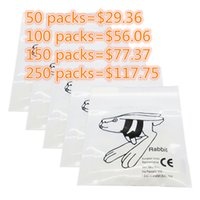 Wholesale 50 Packs Dental Products Orthodontics Oz Force Clear Elastics Rubber Bands quot pack