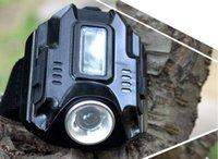 belt flashlight - Ortable Lighting Flashlights Torches New Arrival CREE Q5 LED Wrist Watch rechargeable Flashlight Torch USB Charging Wrist Free Ship