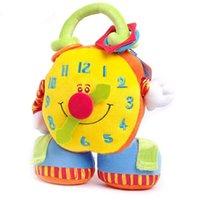 big clock hands - 2015 new arrival Big clock plush toys baby toys hand toys cartoon toys WJ191