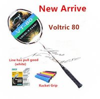 Wholesale VT Badminton Racket New Voltric Badminton Racket Carbon Fibre Rackets JP Version High Quality VT badminton racket