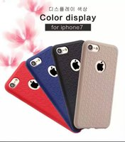 apple knitting pattern - New Pattern SPIGEN Ultra thin Soft TPU Knit lines Armor For Iphone7G Plus Mobile Phone Cases
