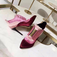 shoe sole material - top quality new arrival women silk material sheepskine inside genuine leather sole high heeled shoes women leather boots