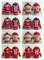 Wholesale Men s NHL Ice hockey jersey Fleece Hoodie Montreal Canadiens GALLAGHER GALCHENYUK The traditional embroidery