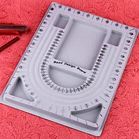 beading jewelry designer - Plastic Grey Rectangle Beading Bead Jewelry Design Board x mm Shop Company Diy Jewelry Designer Tray