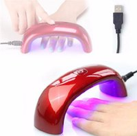 best nail supply - Best Quality W V LED Light Lamp Gel Nail Polish Mini LED Nail Dryer USB Power Supply LED Nail Dryer Machine