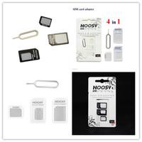 Wholesale NOOSY in1 Nano Micro Standard Sim Card Converter Nano Sim Adapter Micro sim Card For Iphone Plus All Mobile Devices S15